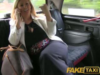 Taxi Blondine Fake Atemberaubende Gratis Sextube,