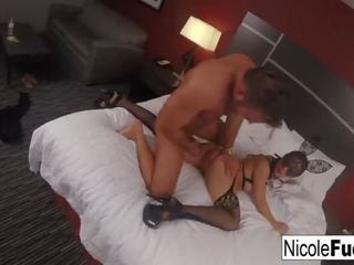 Nicole Aniston Flotter Dreier Anal